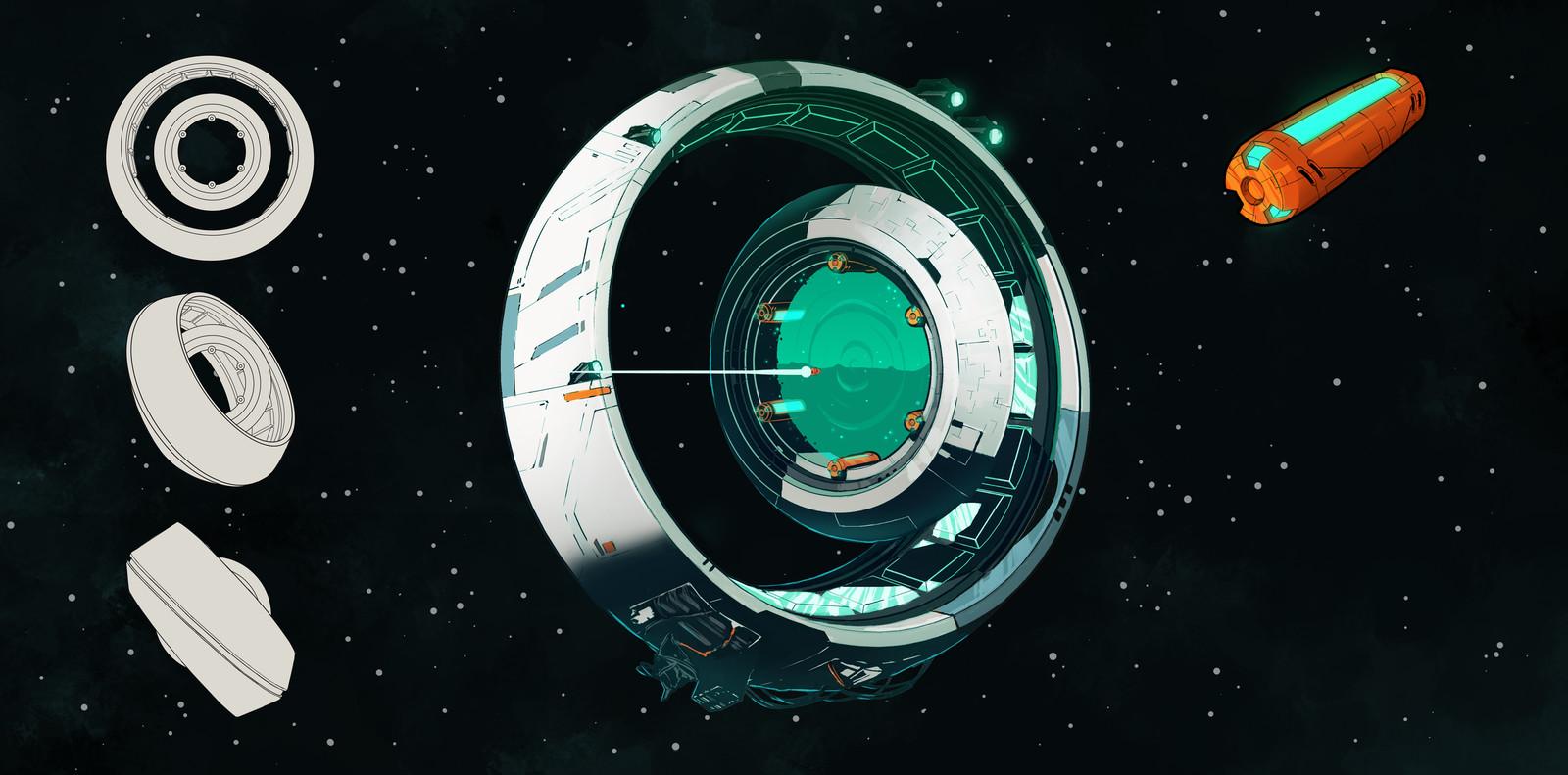 Space Portal Design