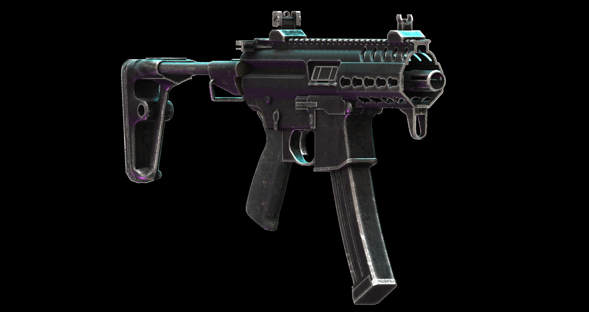 Adrià Artigas - SIG MPX K PSB Rifle