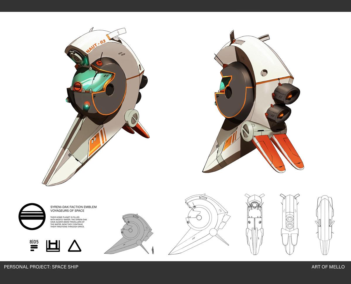 Spaceship Naut-03