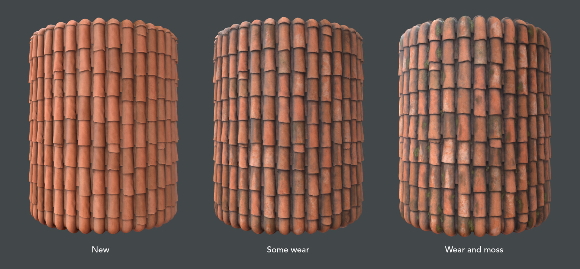 Alina godfrey roof tiles color variations
