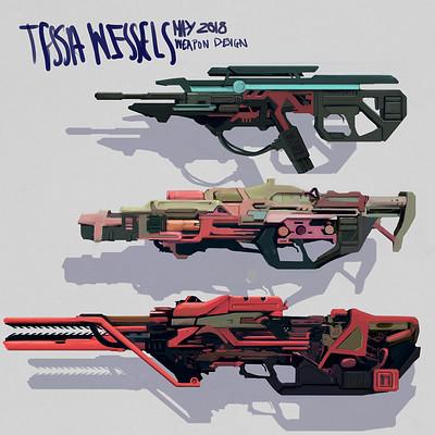 Tessa wessels weapon design boom