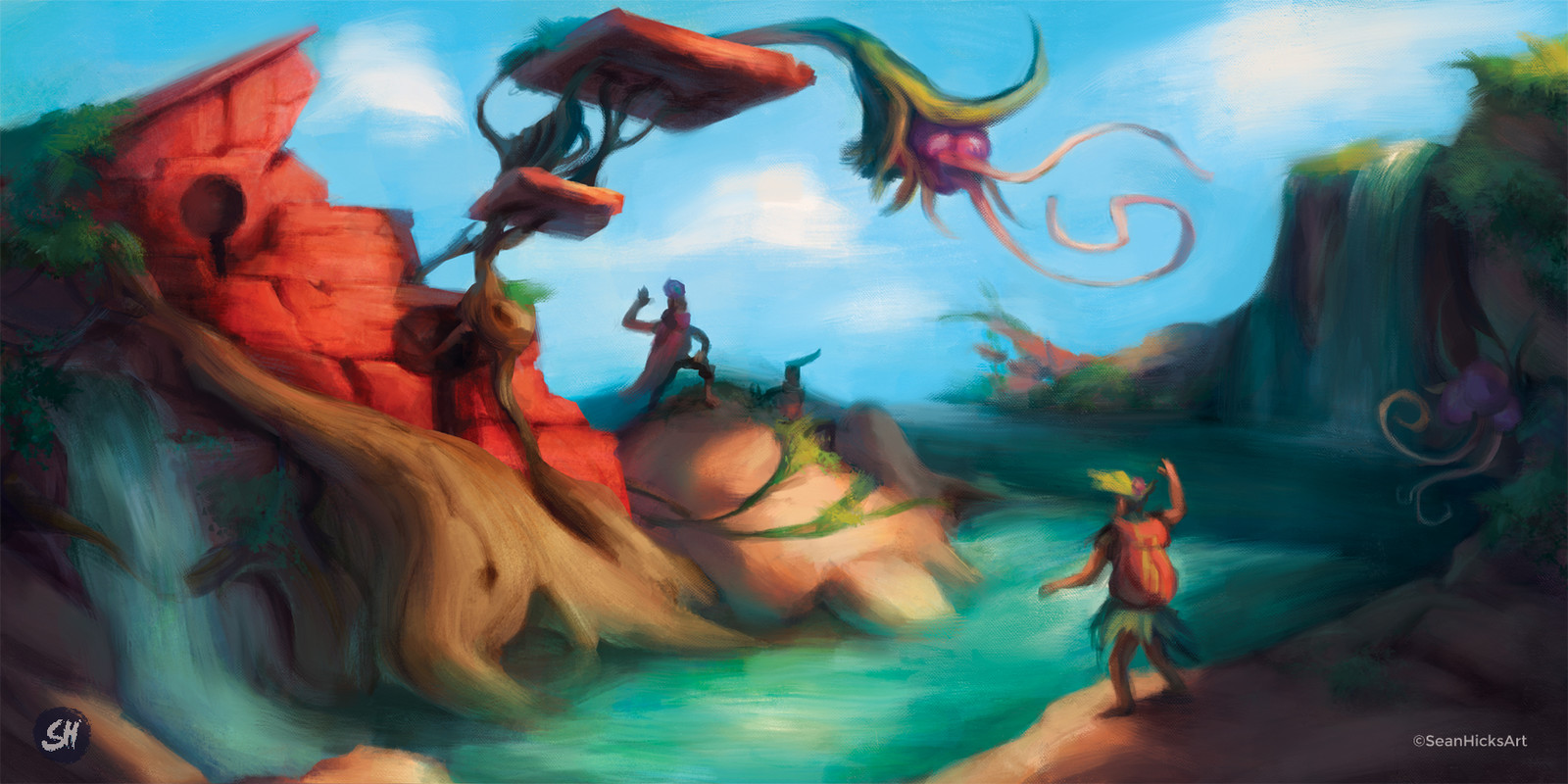 The final concept painting.