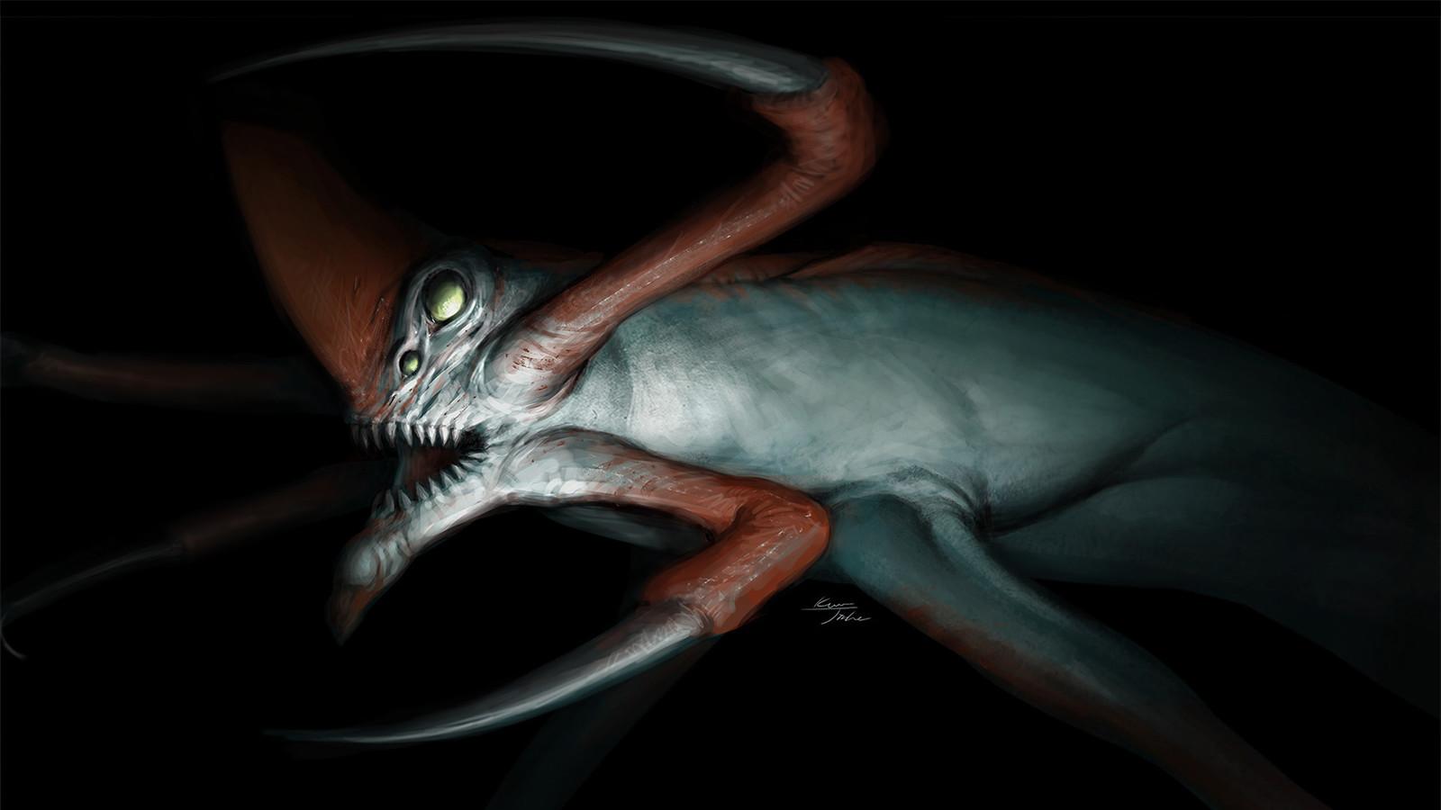 ArtStation - Fan art - Reaper Leviathan (Subnautica), Jinha Kwon
