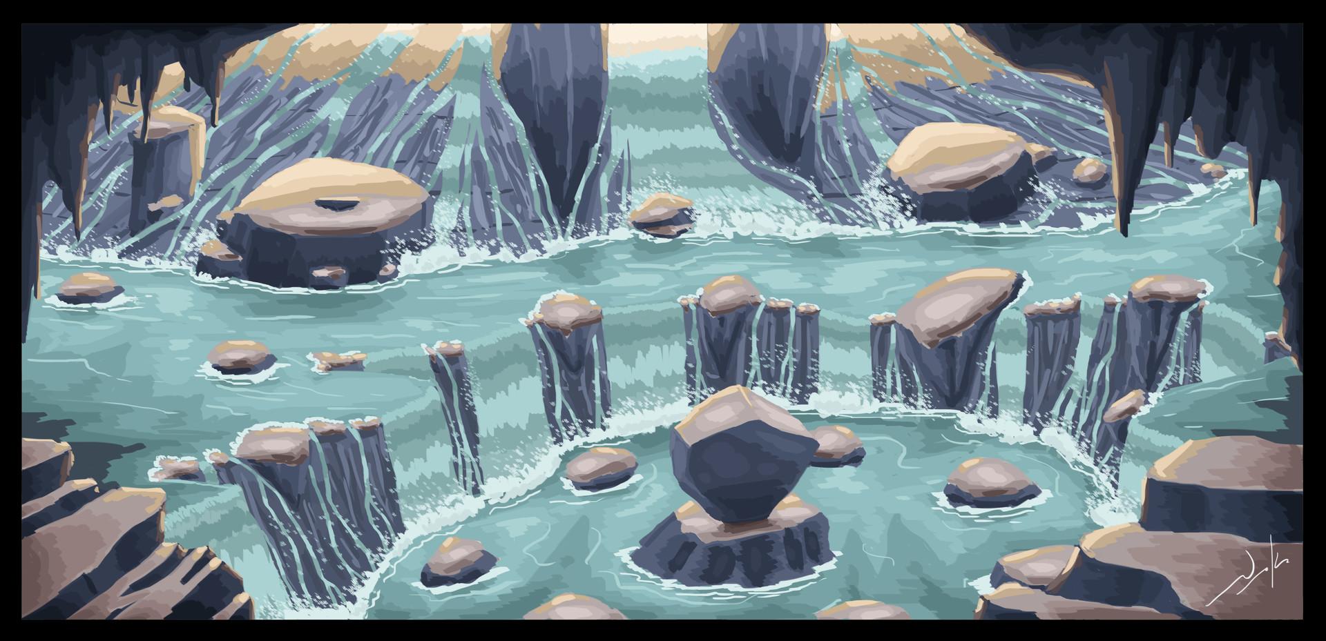Naka isurita waterfalls 2