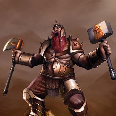 Vaggelis manousakas dwarf barbarian