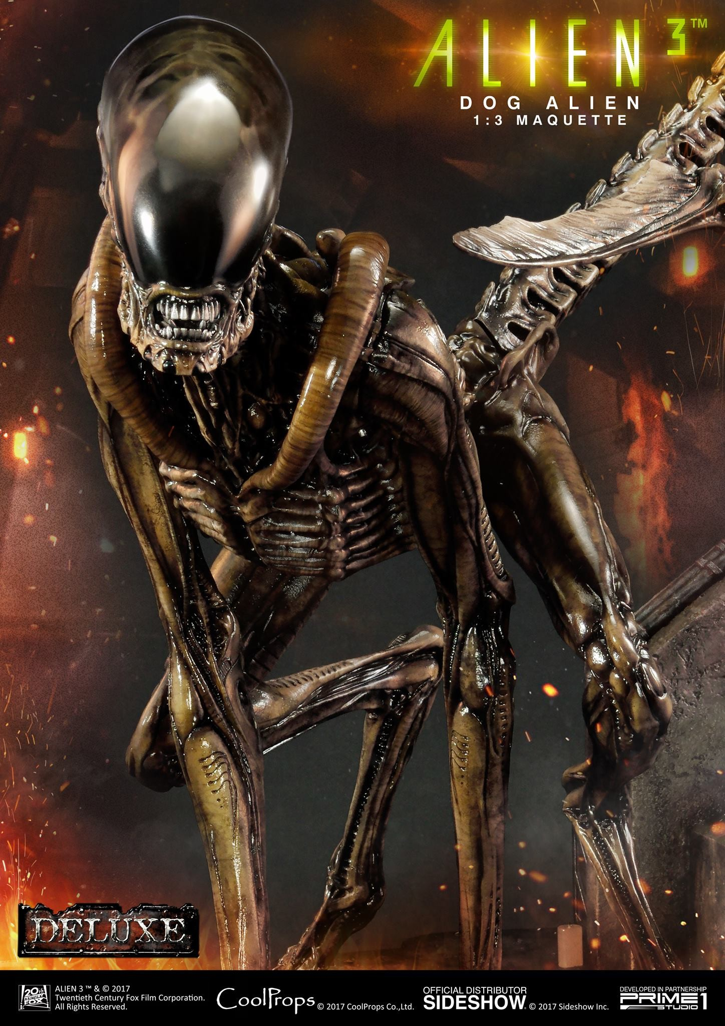 Abner marin alien 3 dog alien maquette 003