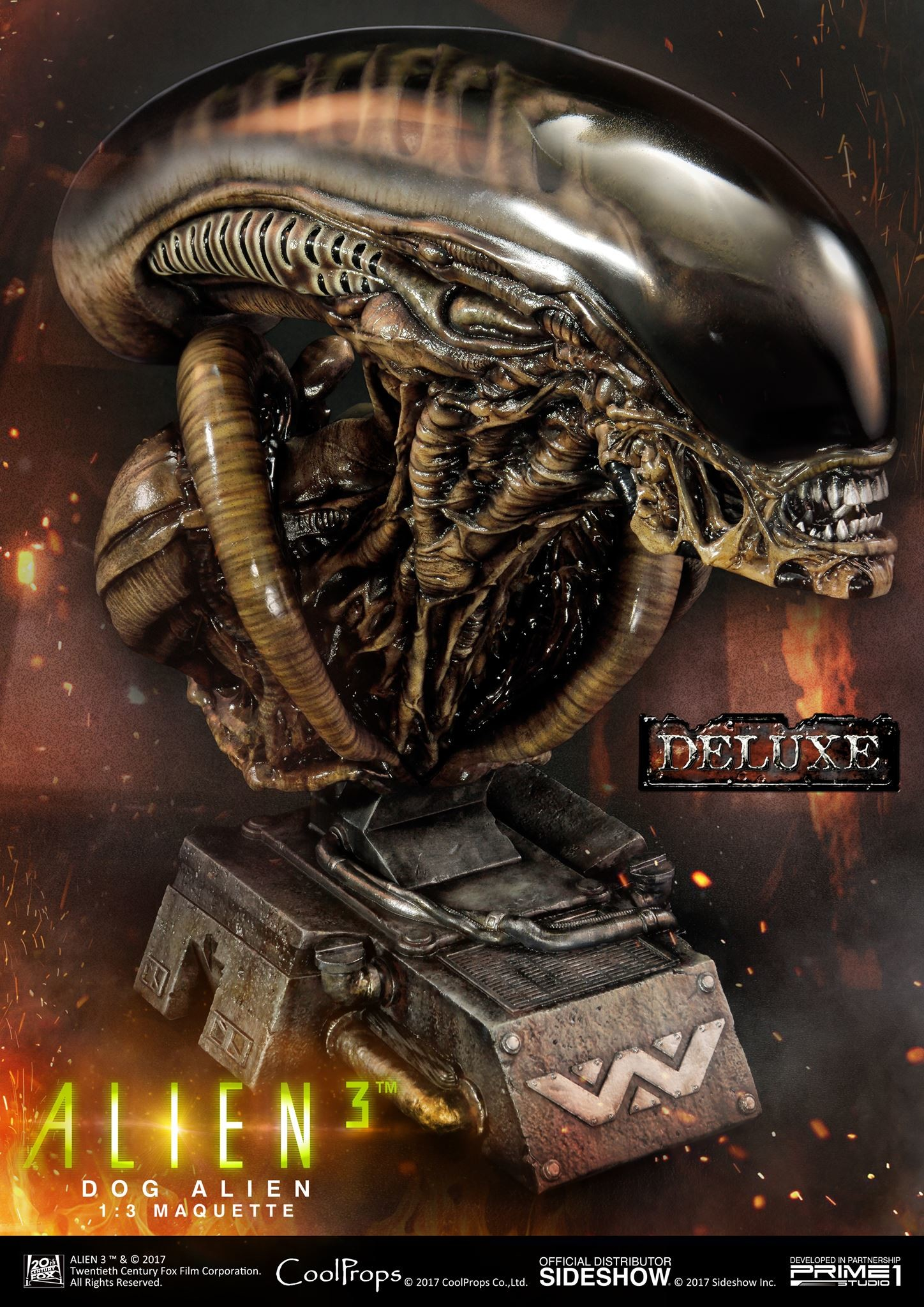 Abner marin alien 3 dog alien maquette 007