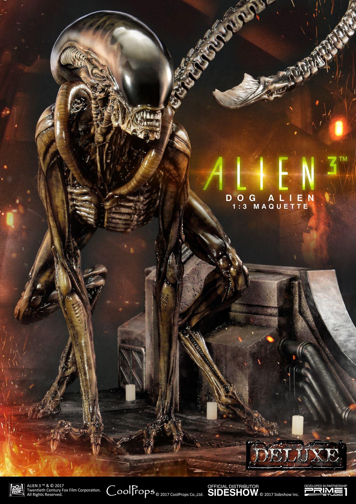 Abner marin alien 3 dog alien maquette 001