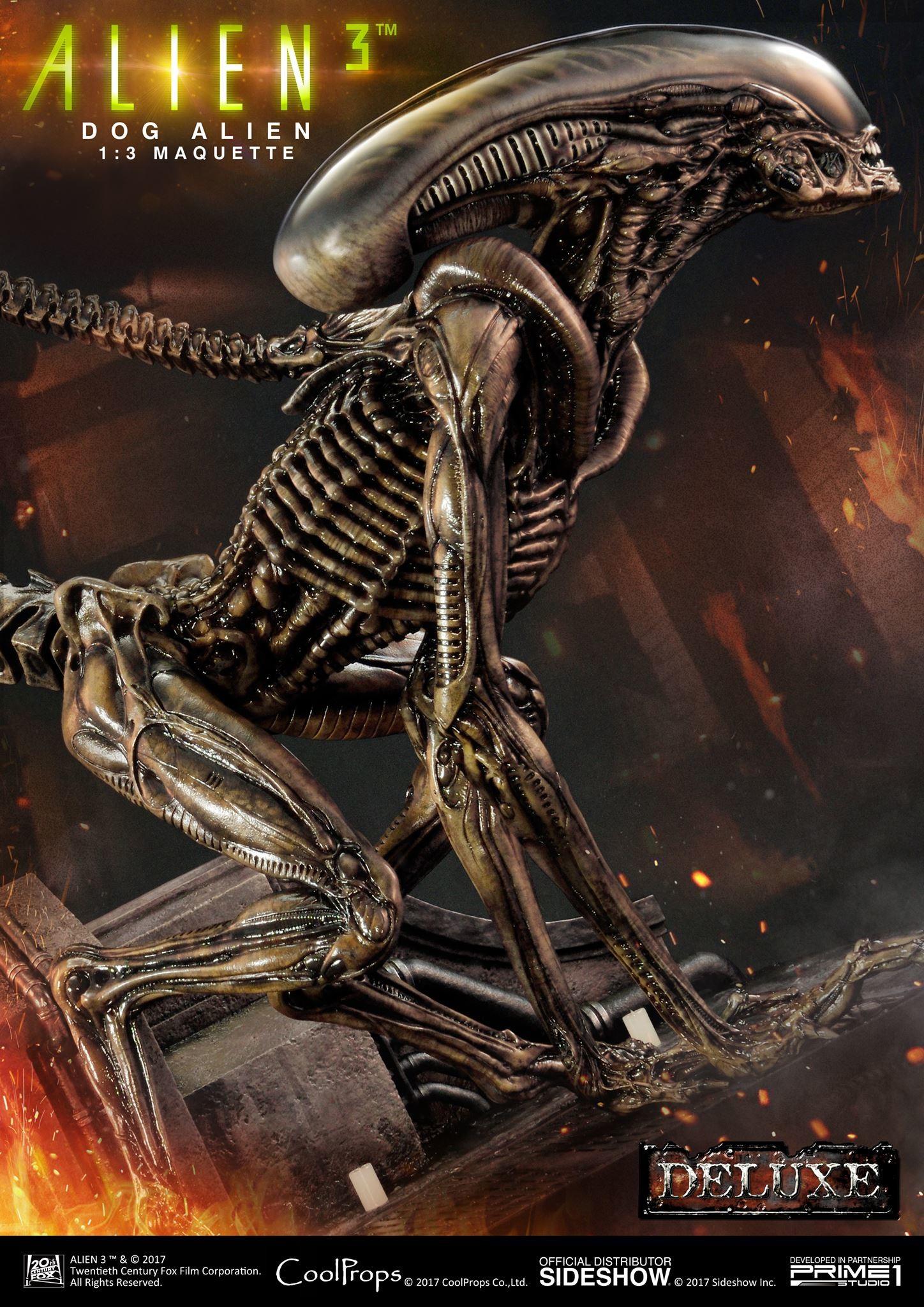 Abner marin alien 3 dog alien maquette 002