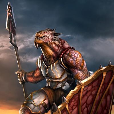 Vaggelis manousakas dragonborn paladin2