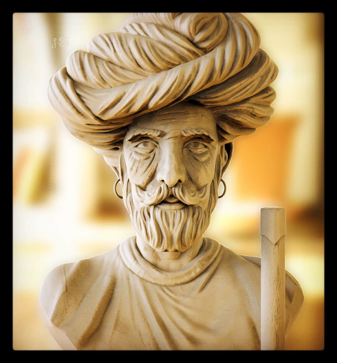 Surajit sen indian man sculpt surajitsen insta