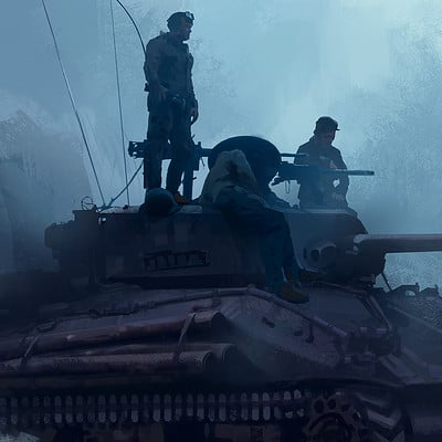 Steve jung ww2 tank low