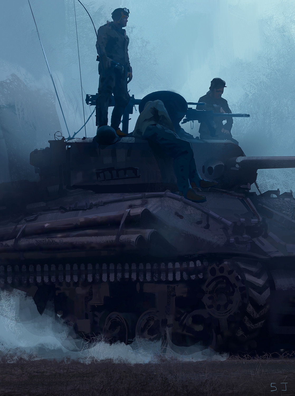 Steve jung ww2 tank low