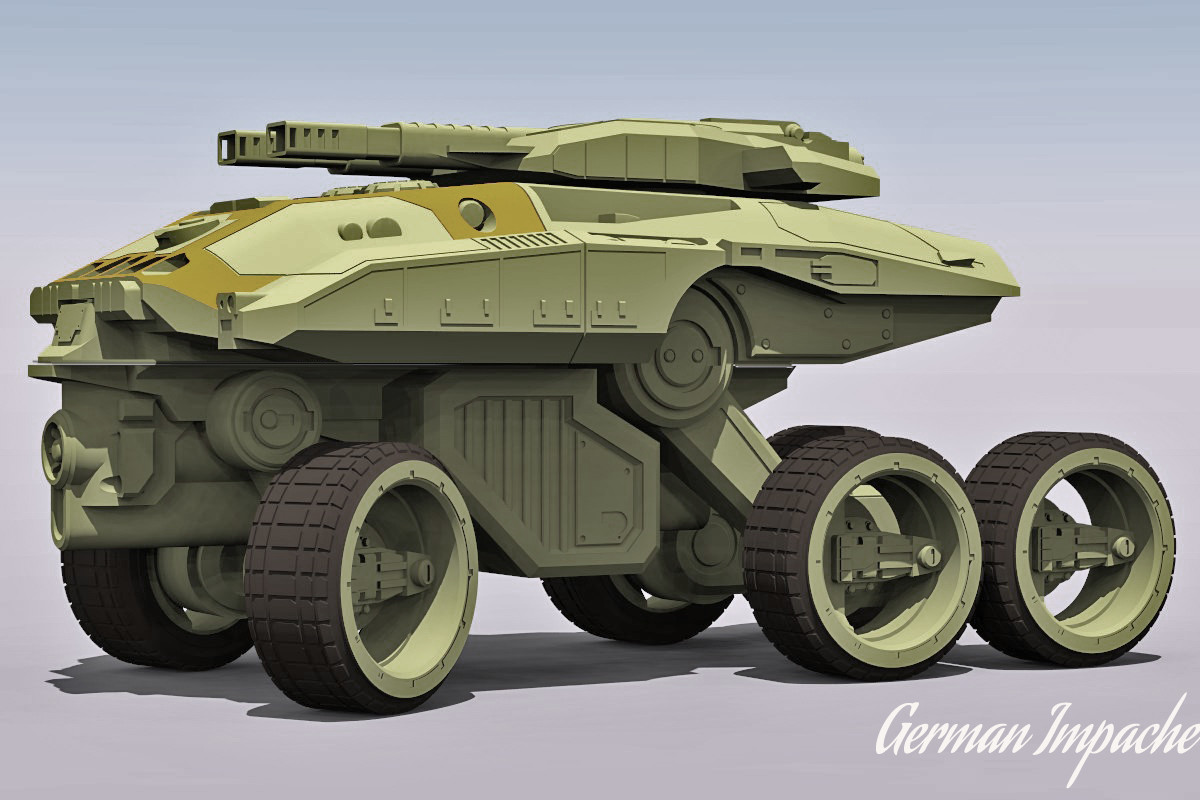 German impache scarabeo turbo tank10