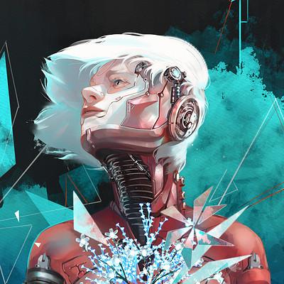 Annie doyon sci fi flower 09