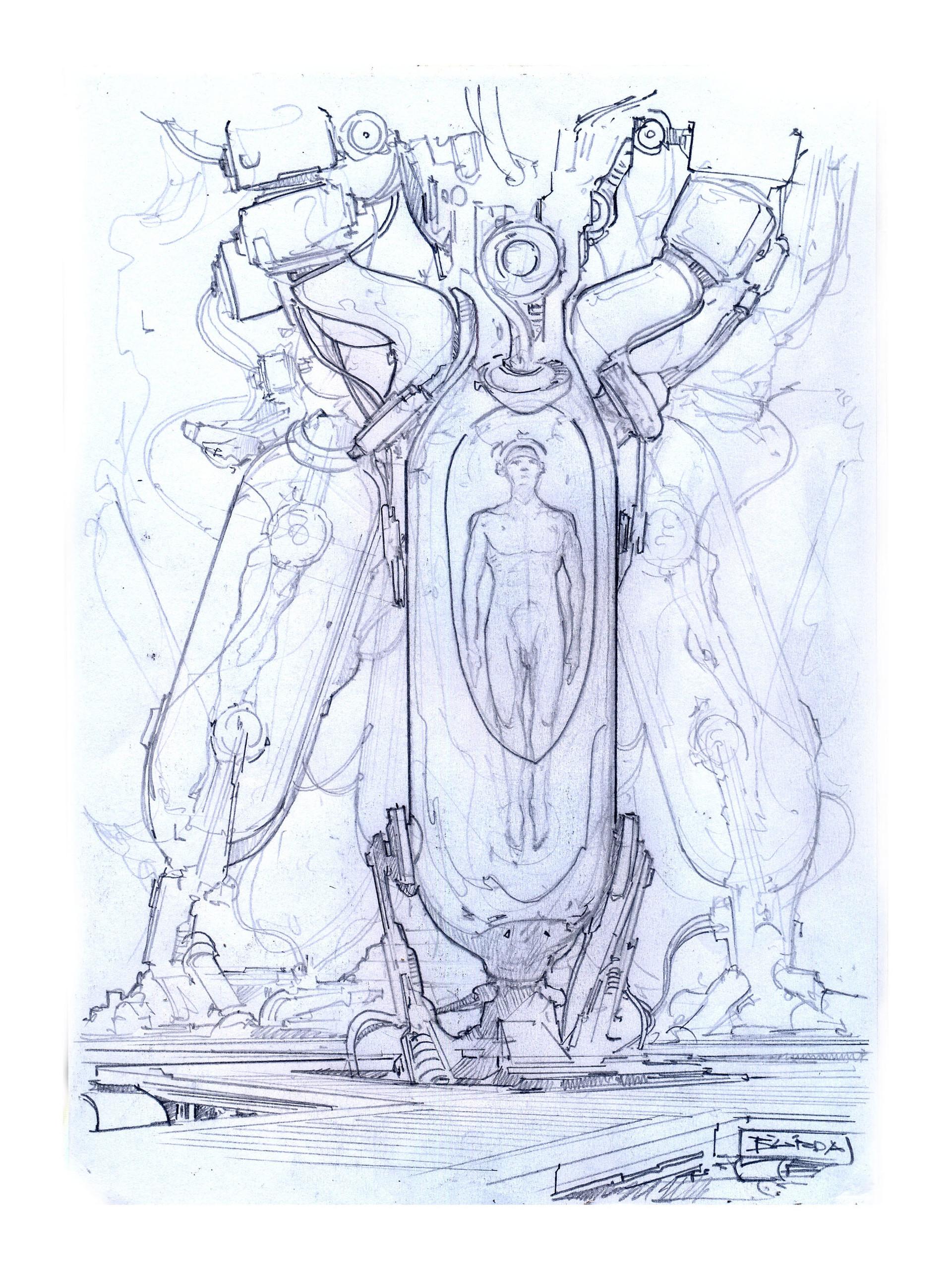 Alejandro burdisio bocetos exile varios0015