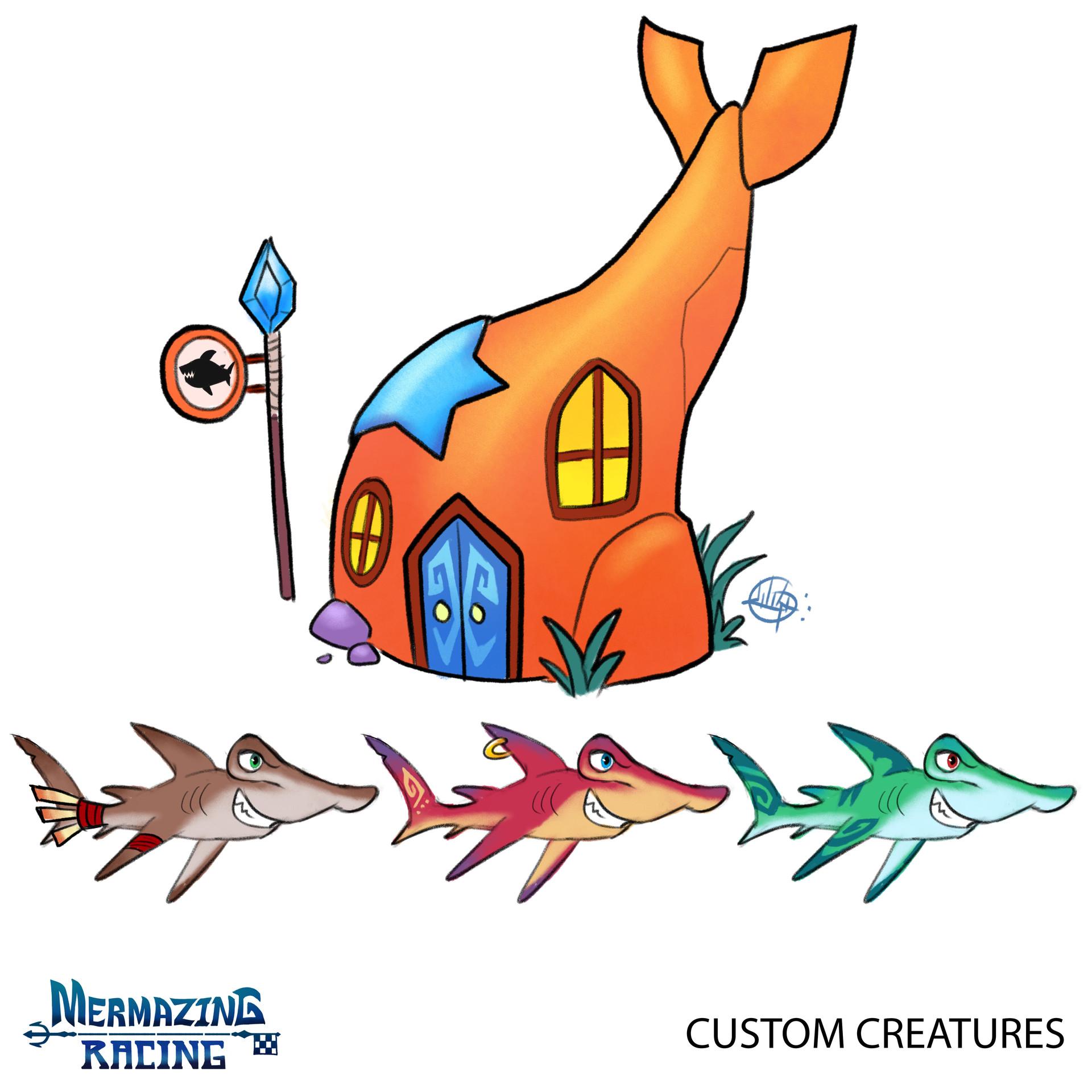 Luigi lucarelli custom creatures