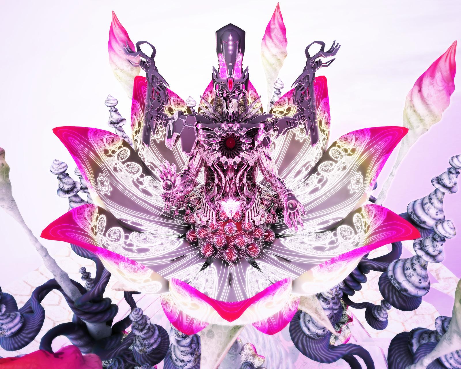 """""""Return of the Machine God -Bloom Mandala"""""""