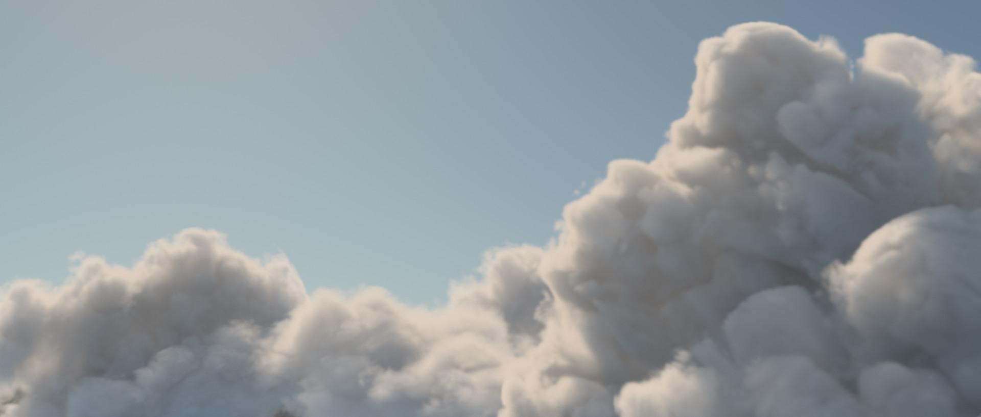 ArtStation - Volumetric Cloud Series I, Sonja Christoph