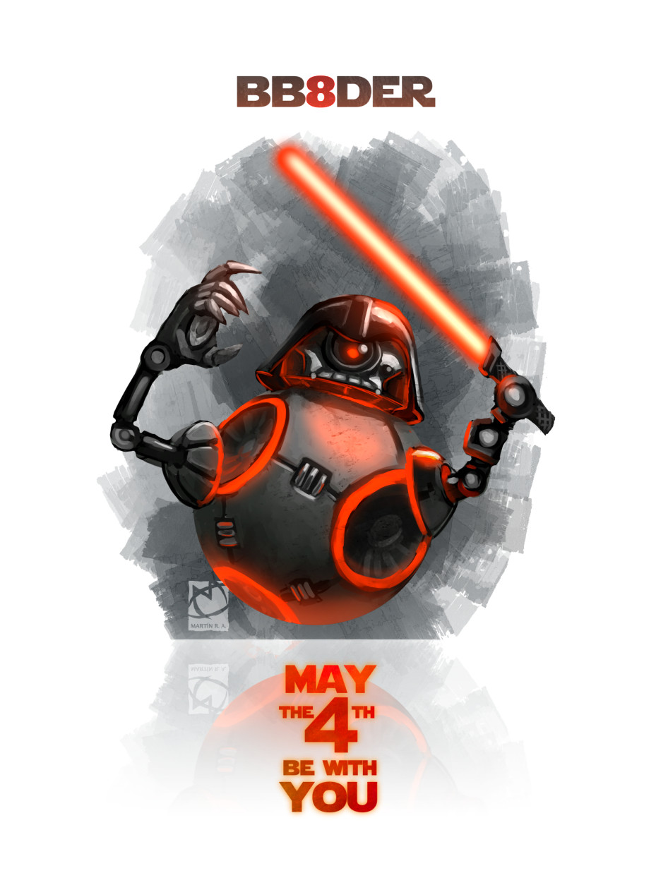 BB8DER. Happy Star Wars Day 2018
