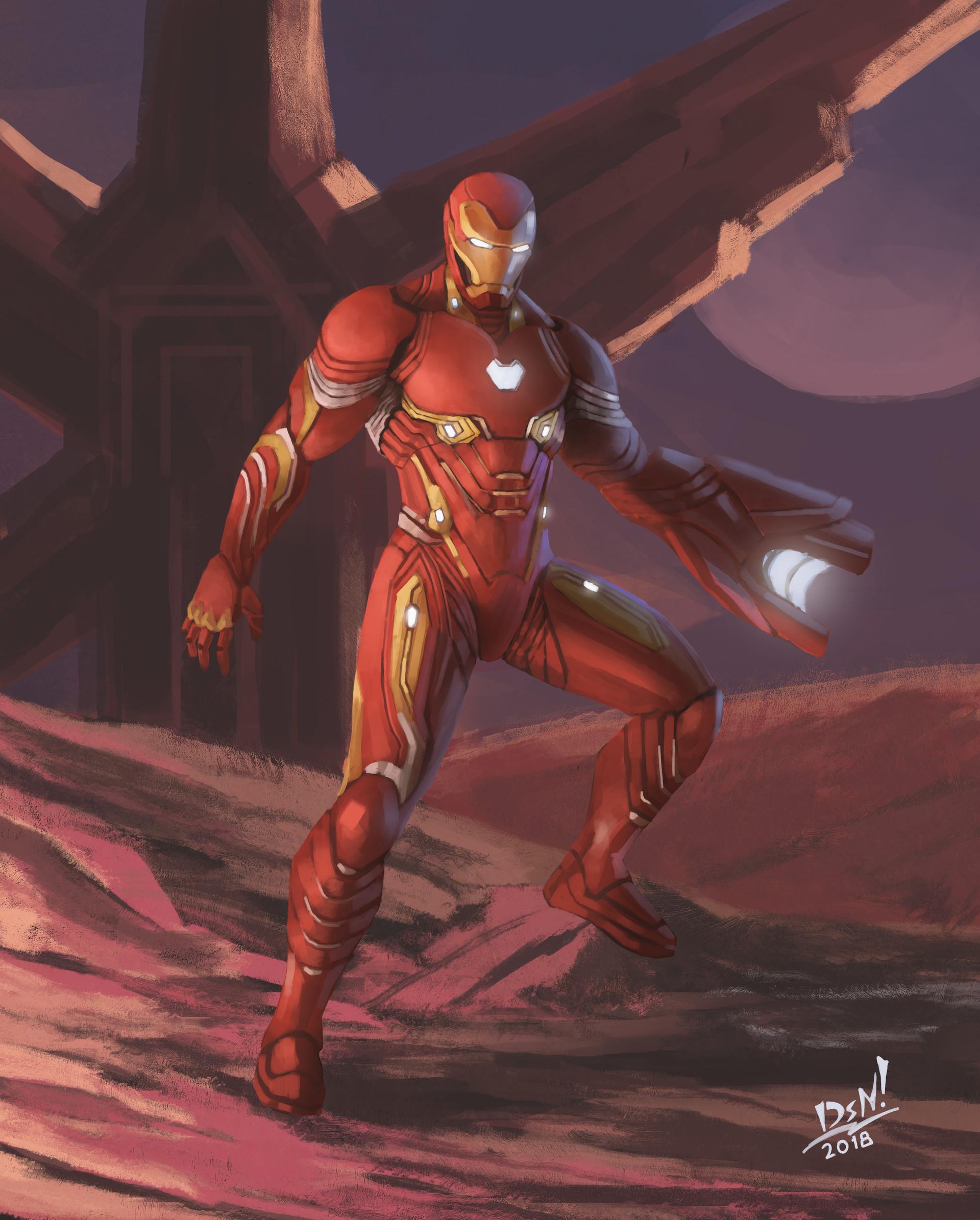 ArtStation - Iron Man nanosuit (Fan Art), Dastan Tebegen