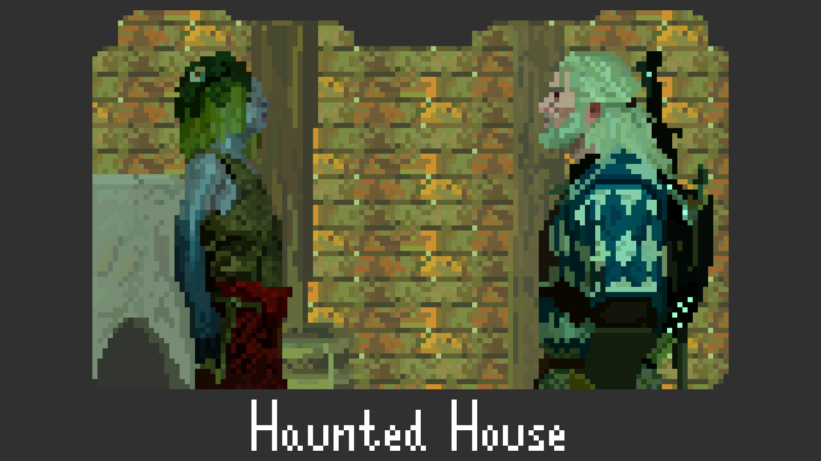 The Witcher 3 Fan Art -- Haunted House