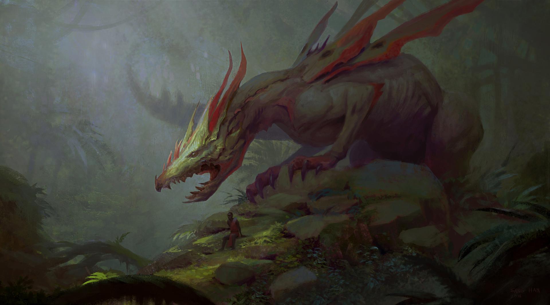 Sang han forest dragon