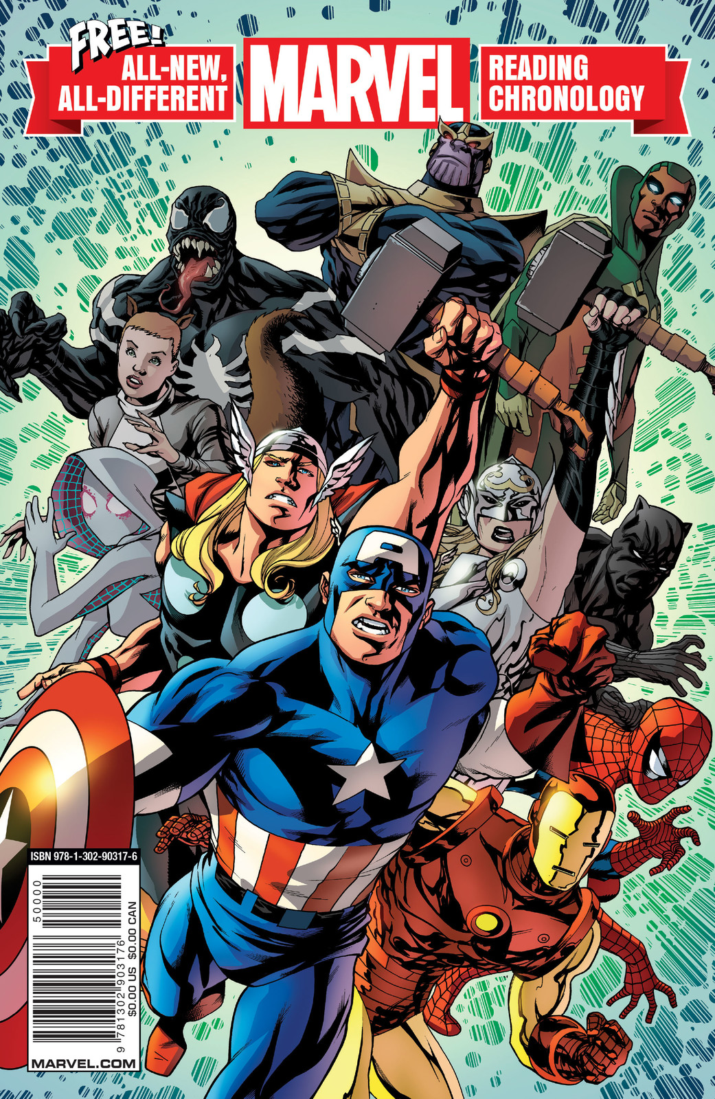 Marvel's All-New, All-Different Marvel Reading Chronology