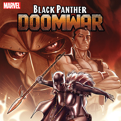 Design and Layout for Marvel's Black Panther: Doomwar
