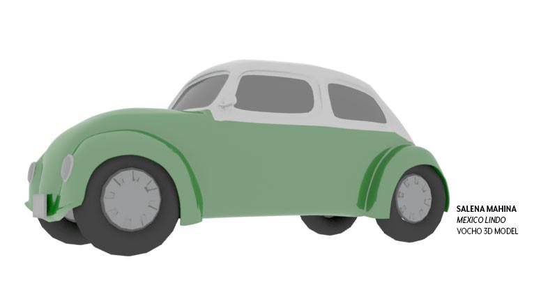 Salena mahina vocho model 3