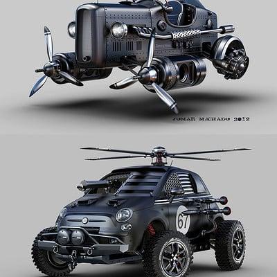 Jomar machado top or bottom retro future vehicles