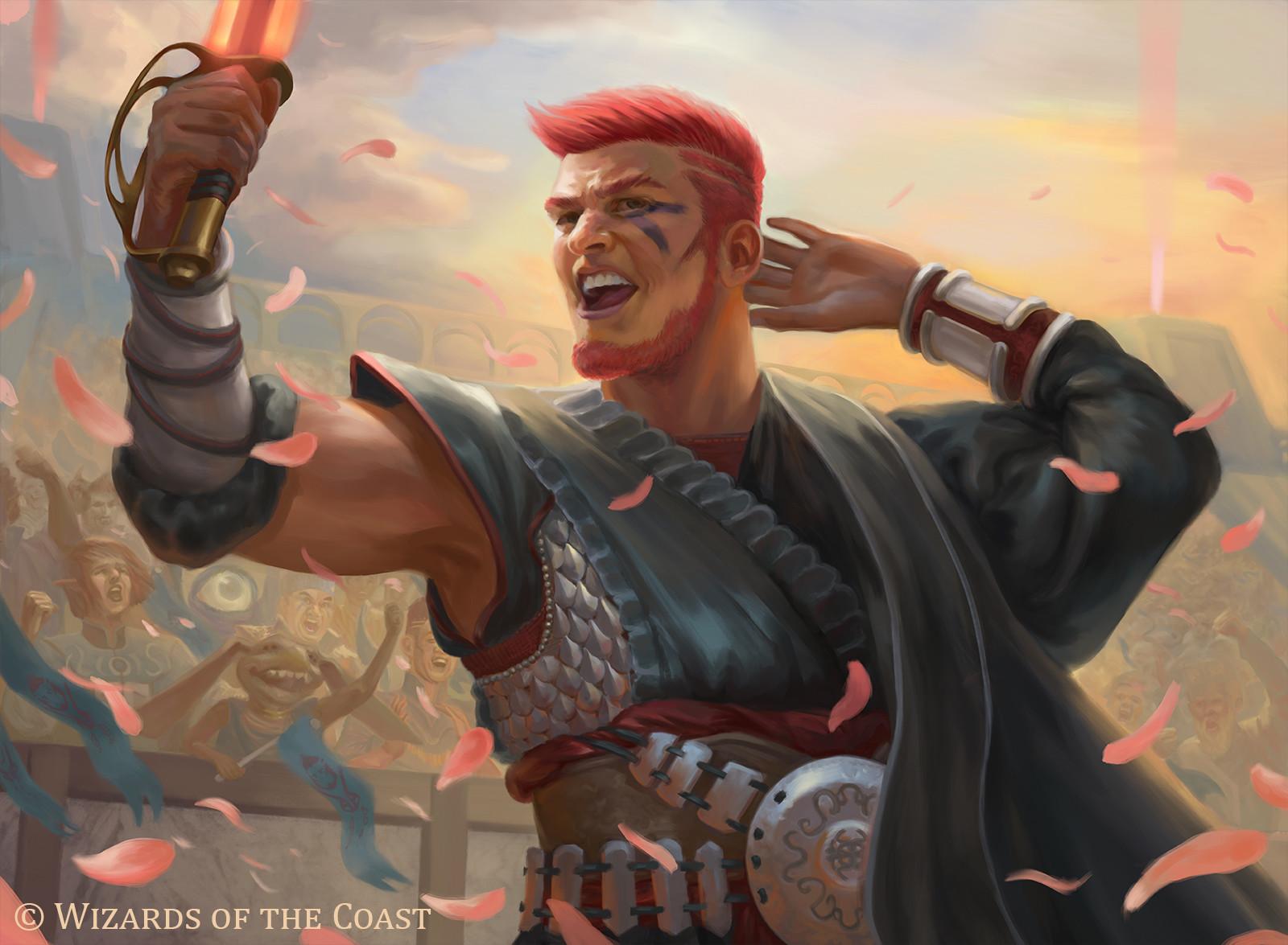 ArtStation - Fan Favorite (MTG: Battle Bond), Suzanne Helmigh