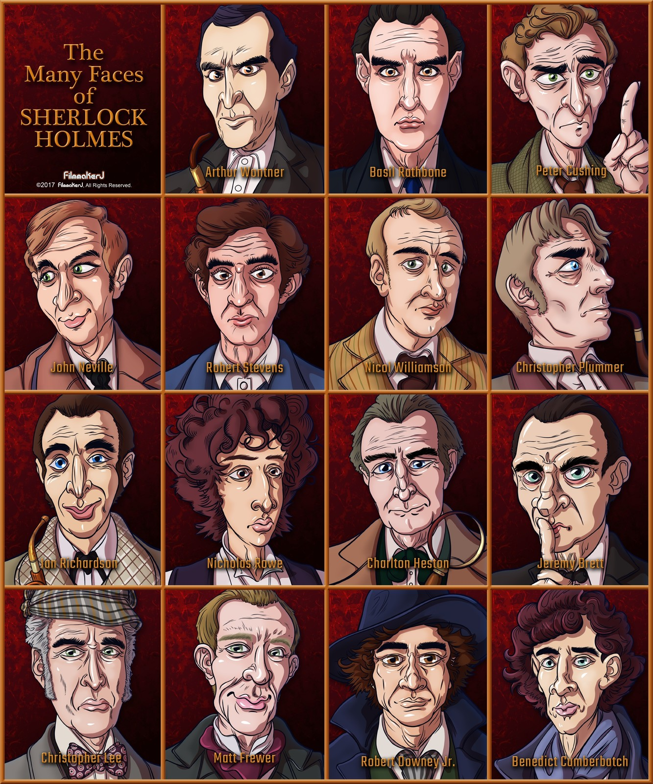 Caricature Series - Complete Set