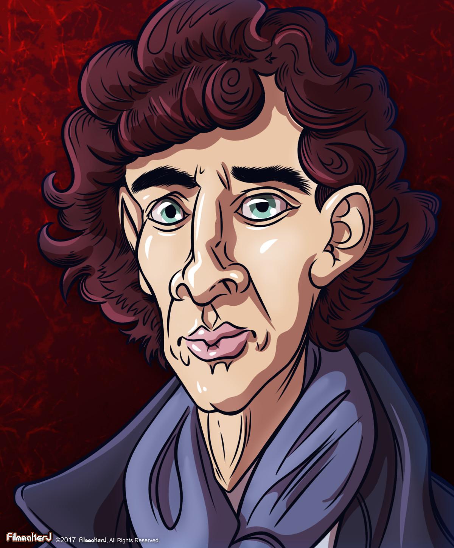 Benedict Cumberbatch - played Sherlock Holmes (2010-Present)