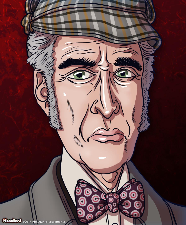 Christopher Lee - played Sherlock Holmes (1992)