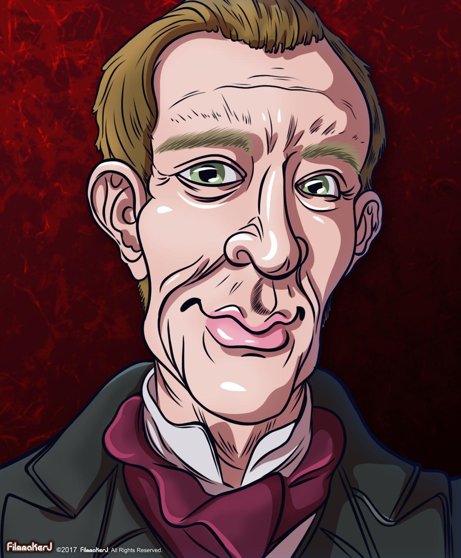 Matt Frewer - played Sherlock Holmes (2000-2002)