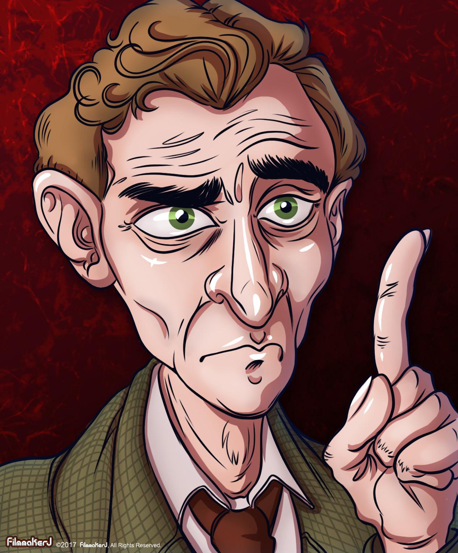 Peter Cushing - played Sherlock Holmes in 1959 and 1968.