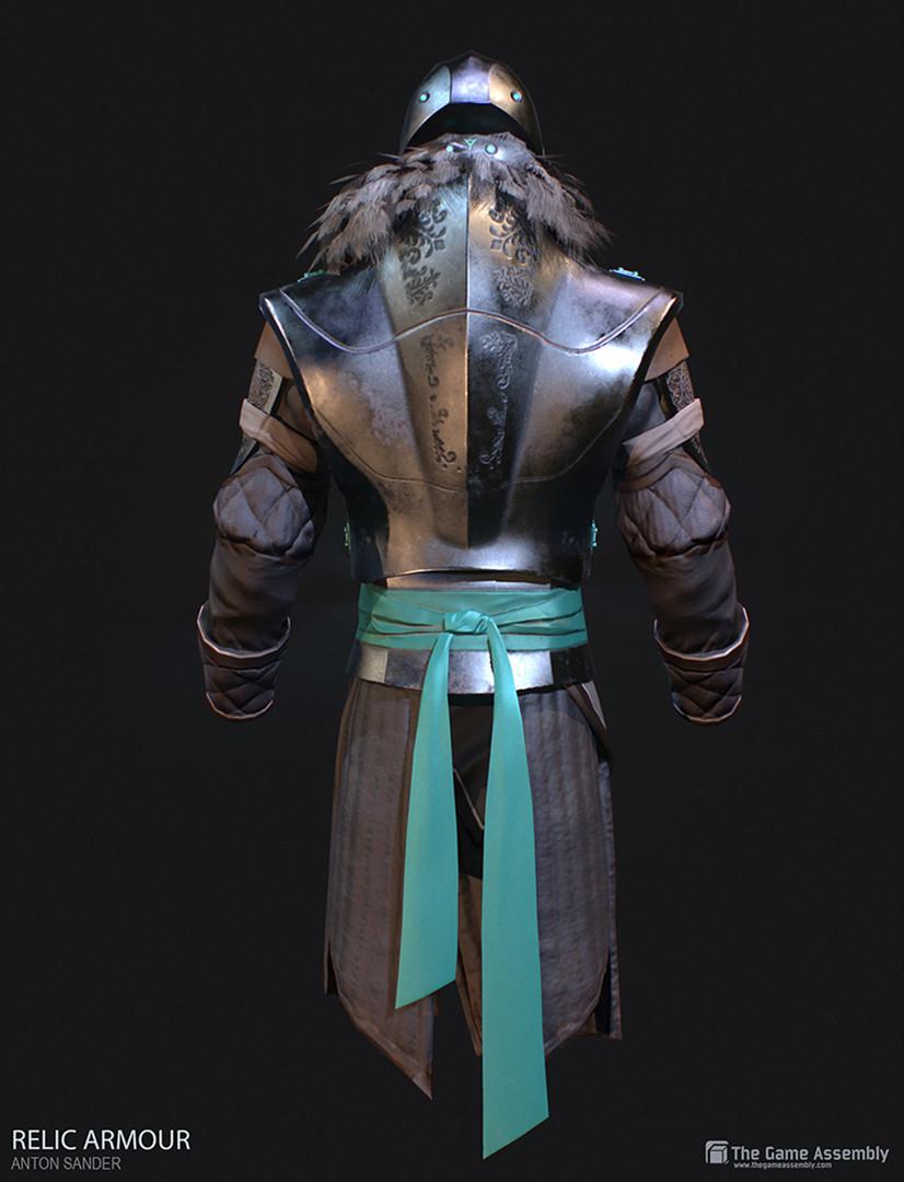 Anton sander relic armour f