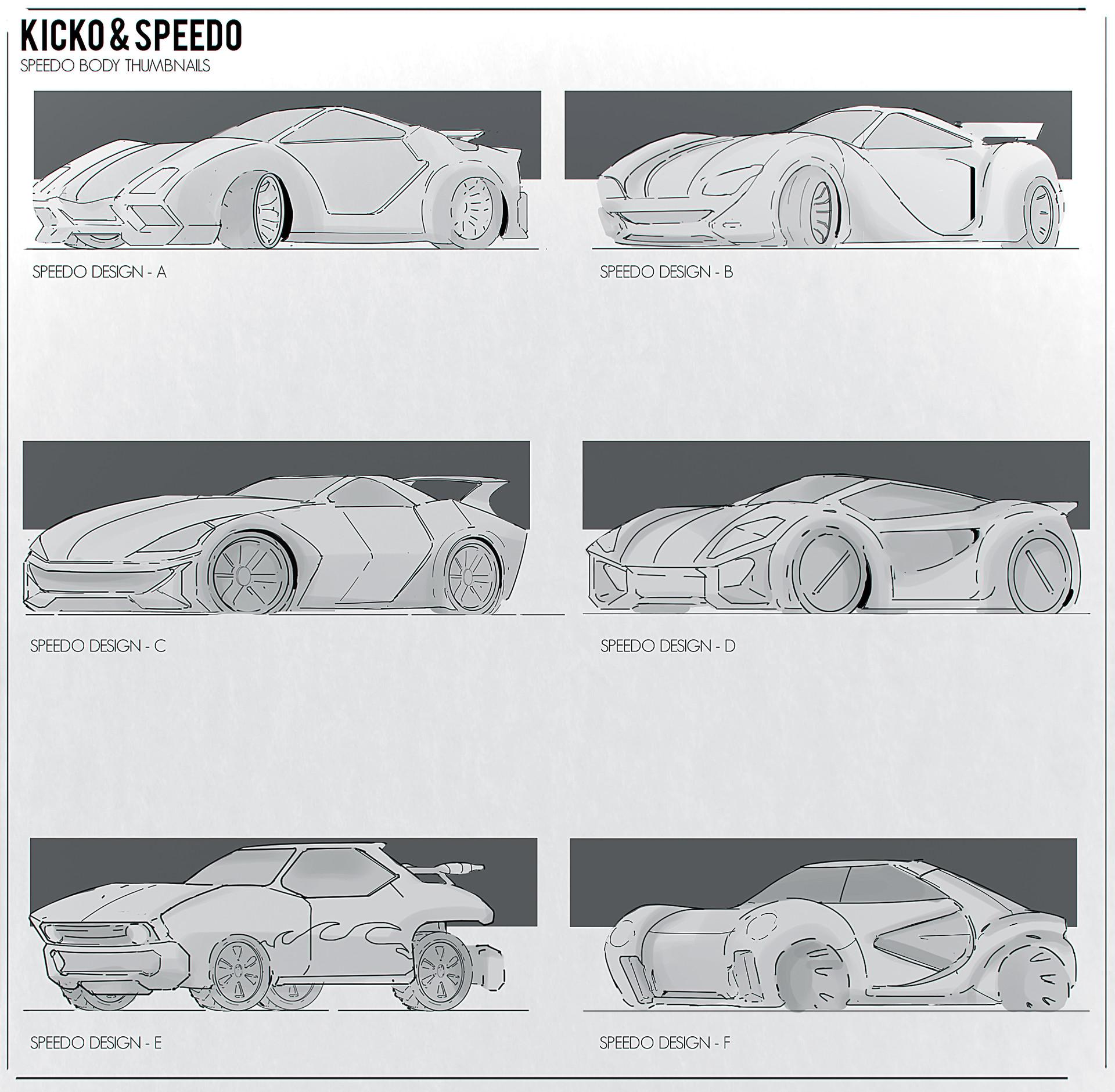 Anirudh Singh Sony Yay Super Speedo Concept Art
