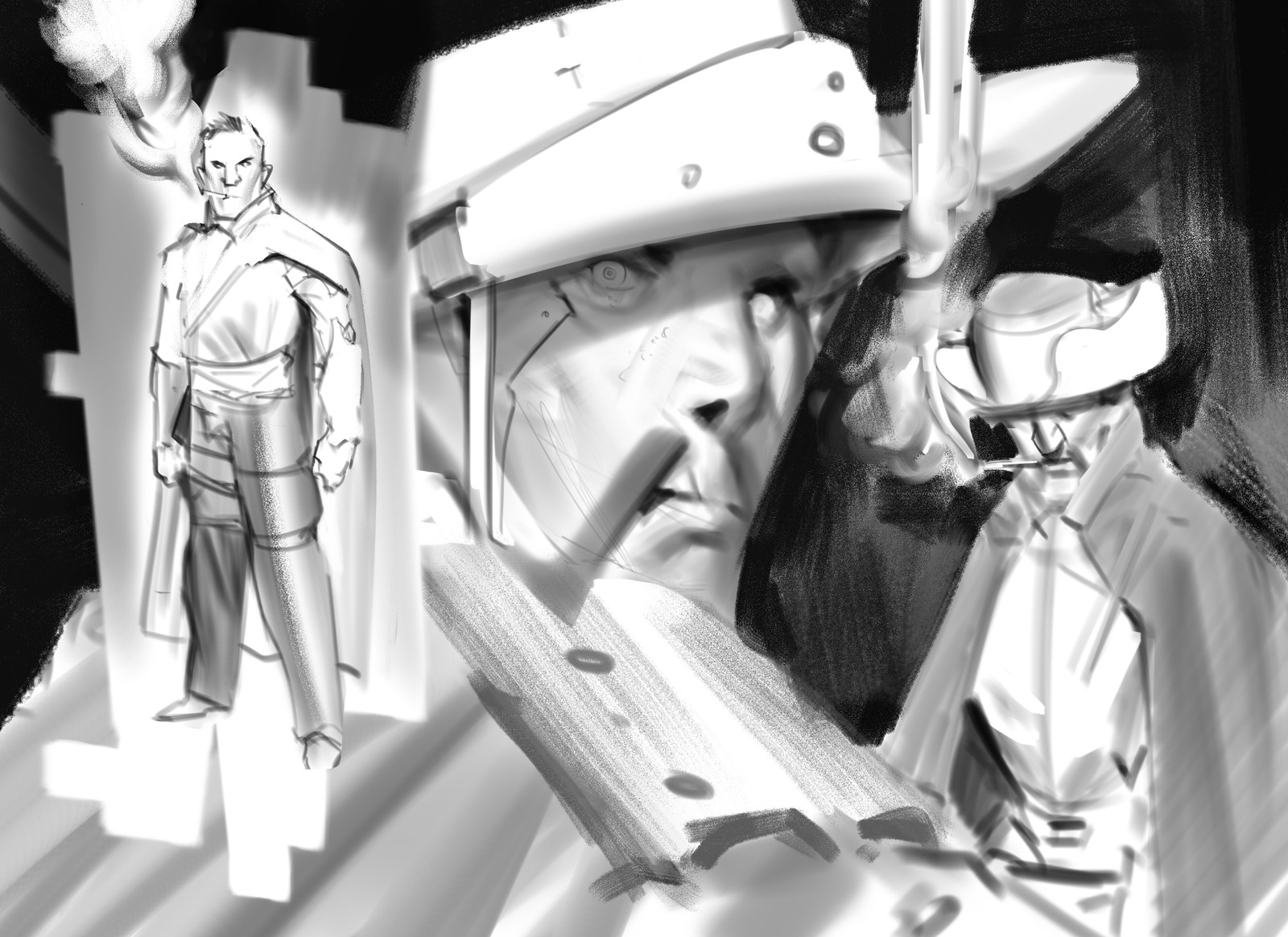 Cowboys sketch