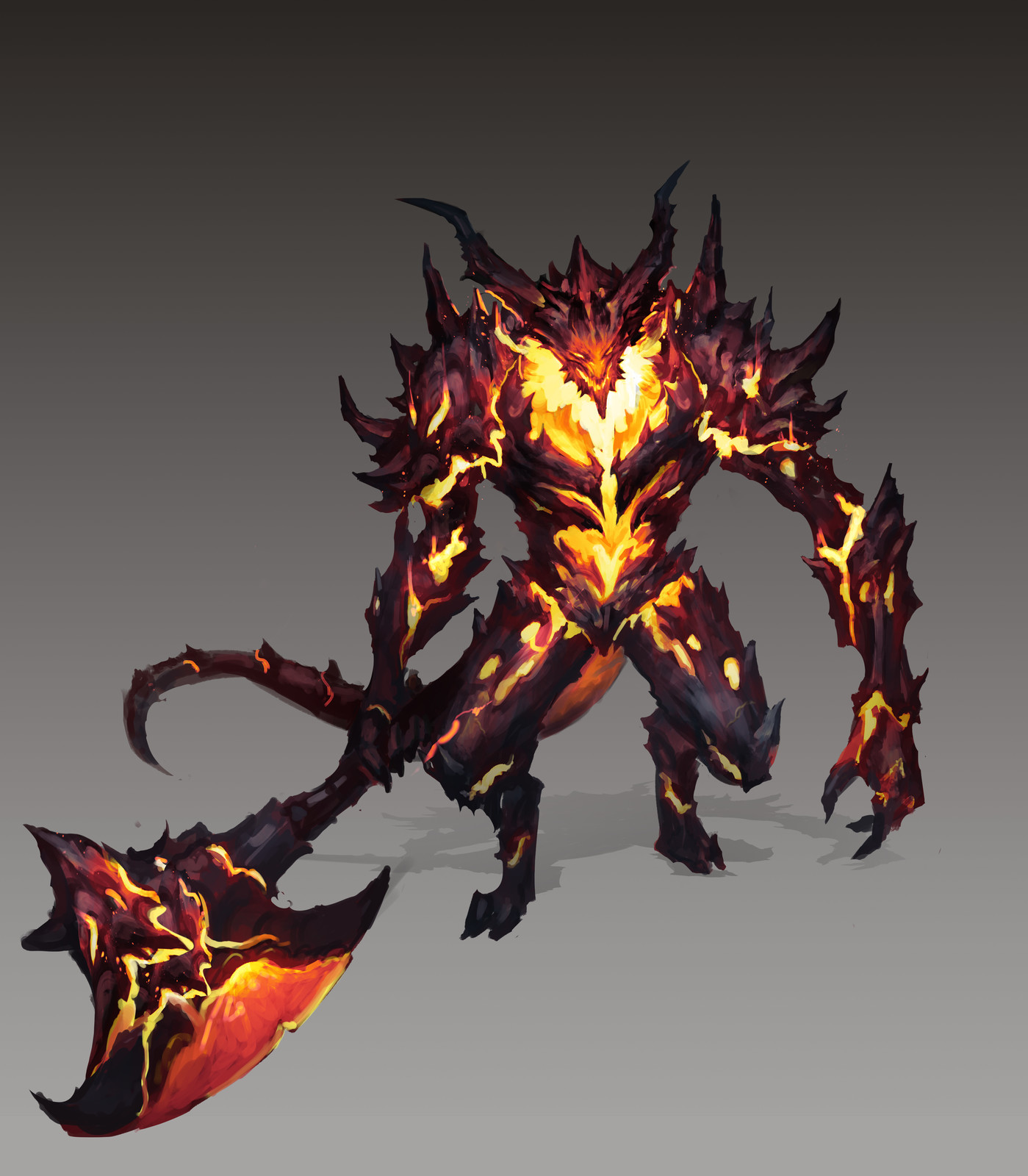 Flame Boss Creature