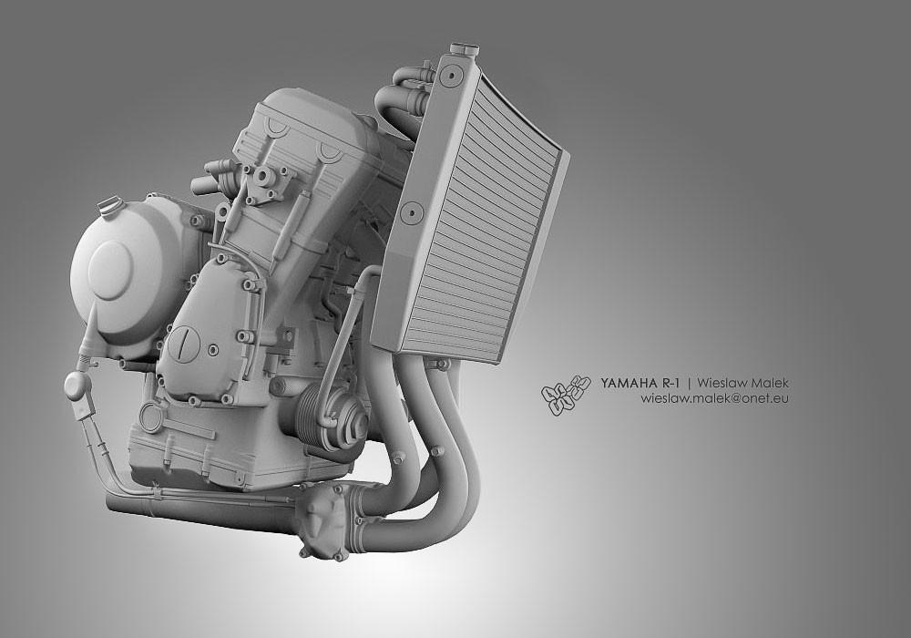 Wieslaw malek 010 r1 engine