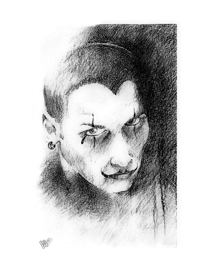 Wieslaw malek 001 clownselfie