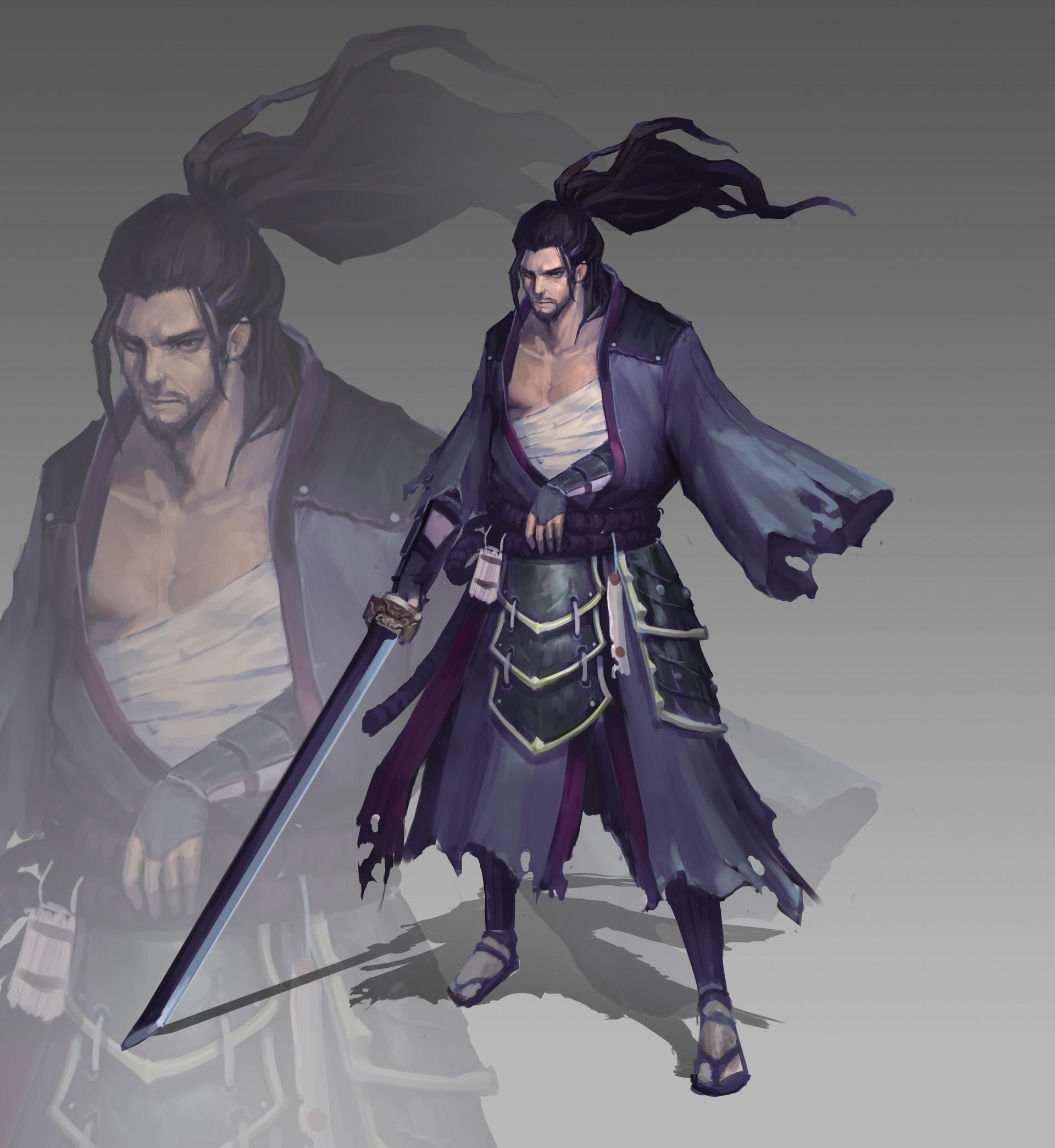 Jeff chen hero concept solo
