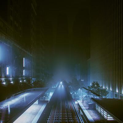 Mohsen hashemi train night