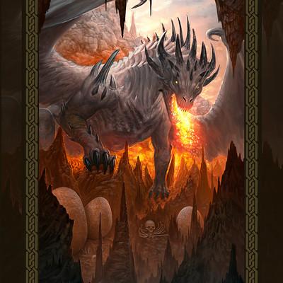 Martin de diego 6 dragon s lair8 by almanegra dbmd9mg