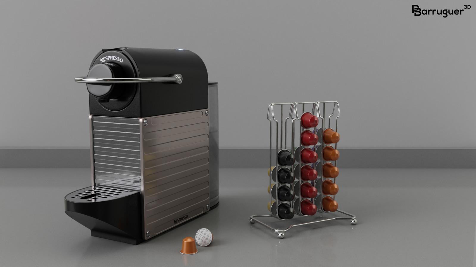 Nespresso Krups Pixie XN 3005