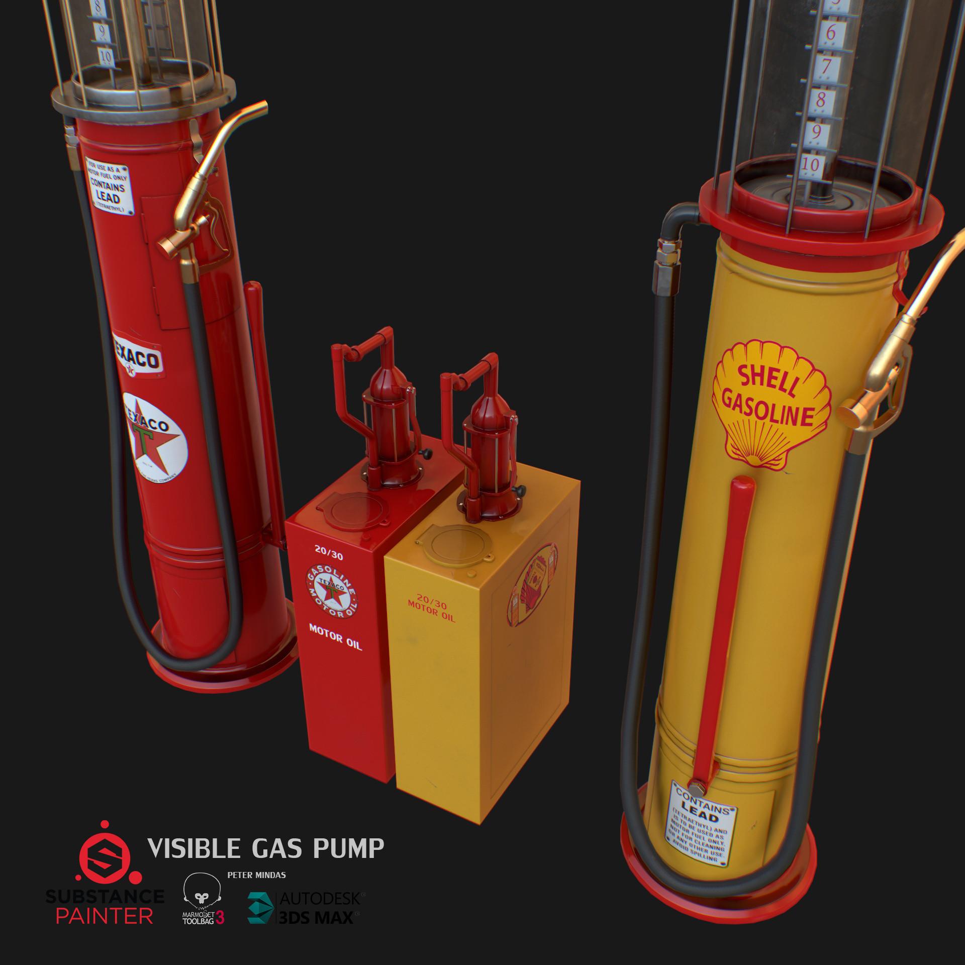 Peter Minďaš - Visible gas pump
