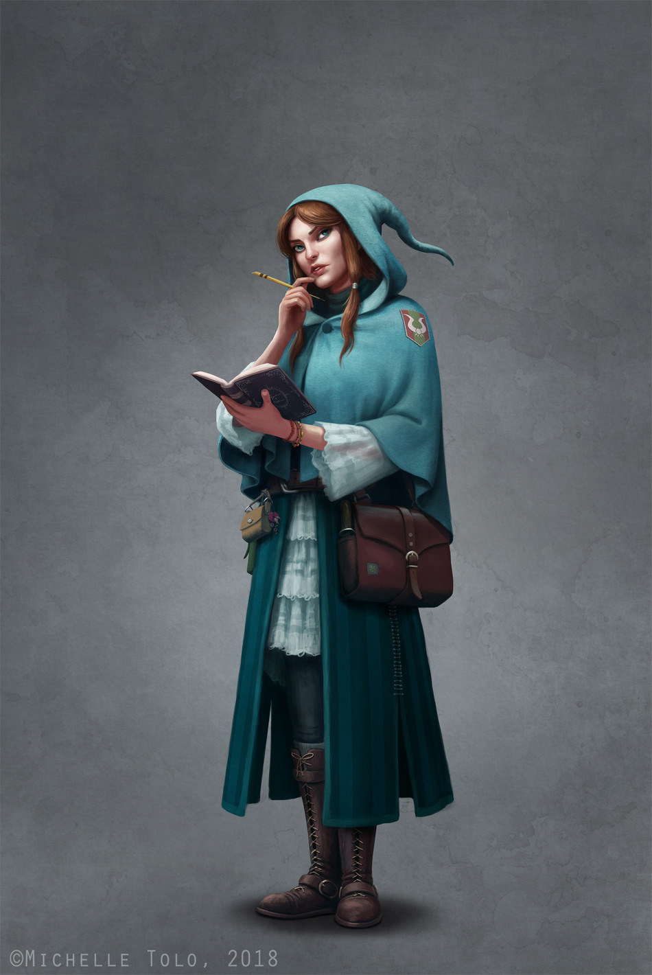 Nellie, the mage detective.