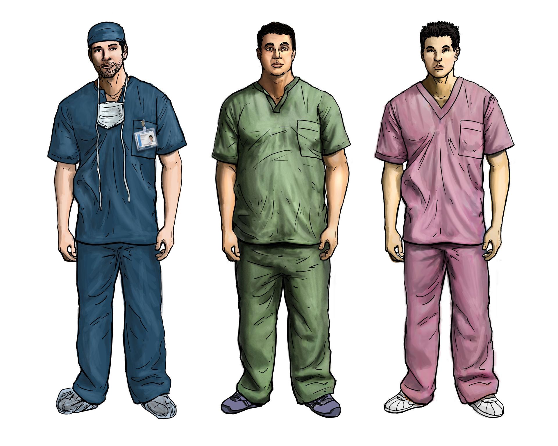 Jeff zugale male scrubs 2